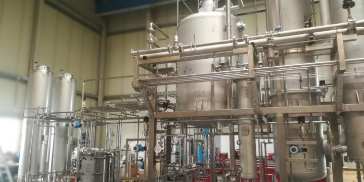 New process system with a capacity of 50 hl/hour