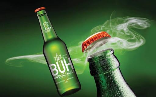 BUH Pils – piwo z dodatkiem suszu z konopii